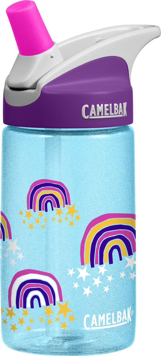 Бутылка Camelbak Eddy, 400 мл. 12744130401274413040Самый безопасный пластик для детей Tritan. Без BPA, BPS, BPF. Уникальный состав, замедляющий рост бактерий! Не влияет на вкус и запах. Непроливайки, небьющиеся при падении. Не требует наклона - удобно пить на ходу, на велосипеде и вообще. Сменный сосок из медицинского силикона - малыши грызут с удовольствием. Стерильное производство - можно купить и сразу заправить водой!