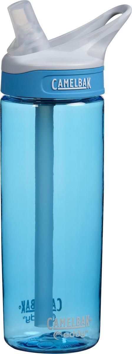 Бутылка Camelbak Eddy, 600 мл. 5363553635Самый безопасный ударопрочный пластик Tritan. Без BPA, BPS, BPF. Уникальный состав, замедляющий рост бактерий! Не влияет на вкус и запах. Не требует наклона - удобно пить на ходу, за рулём, на беговой дорожке и вообще. Сменный сосок из медицинского силикона - тактильно приятно и безопасно для зубов. Стерильное производство - можно купить и сразу заправить водой!