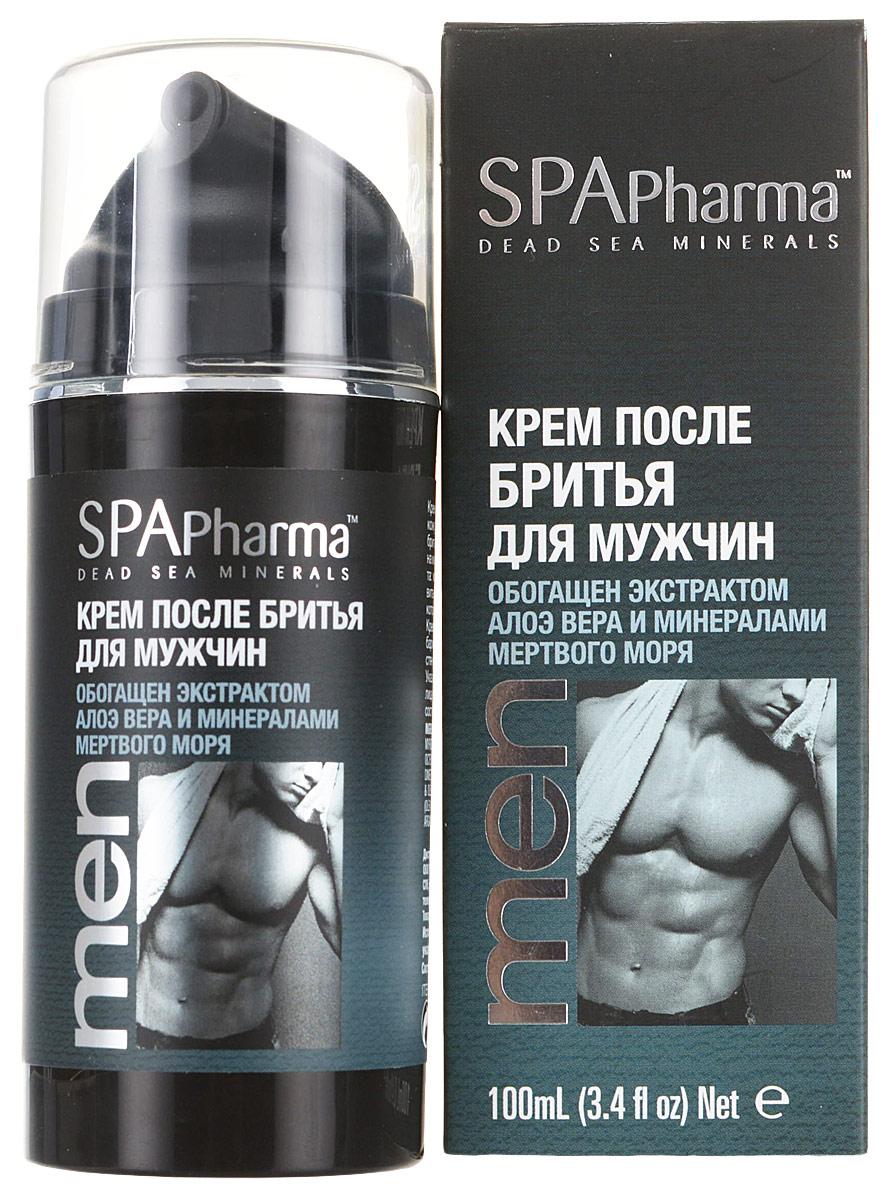 Spa Pharma Kрем после бритья для мужчин, Spa Pharma 100 мл spa pharma минеральный шампунь для сухих и поврежденных волос spa pharma 500 мл