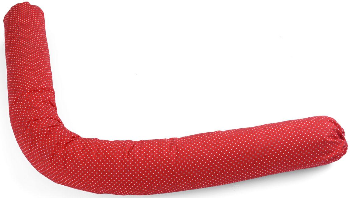 HoneyMammy Защитный валик в детскую кровать Grano Saraceno цвет красный