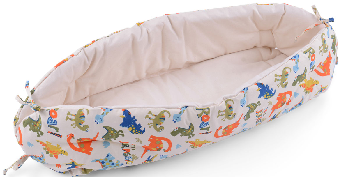 HoneyMammy Кокон для новорожденного для совместного сна Dino