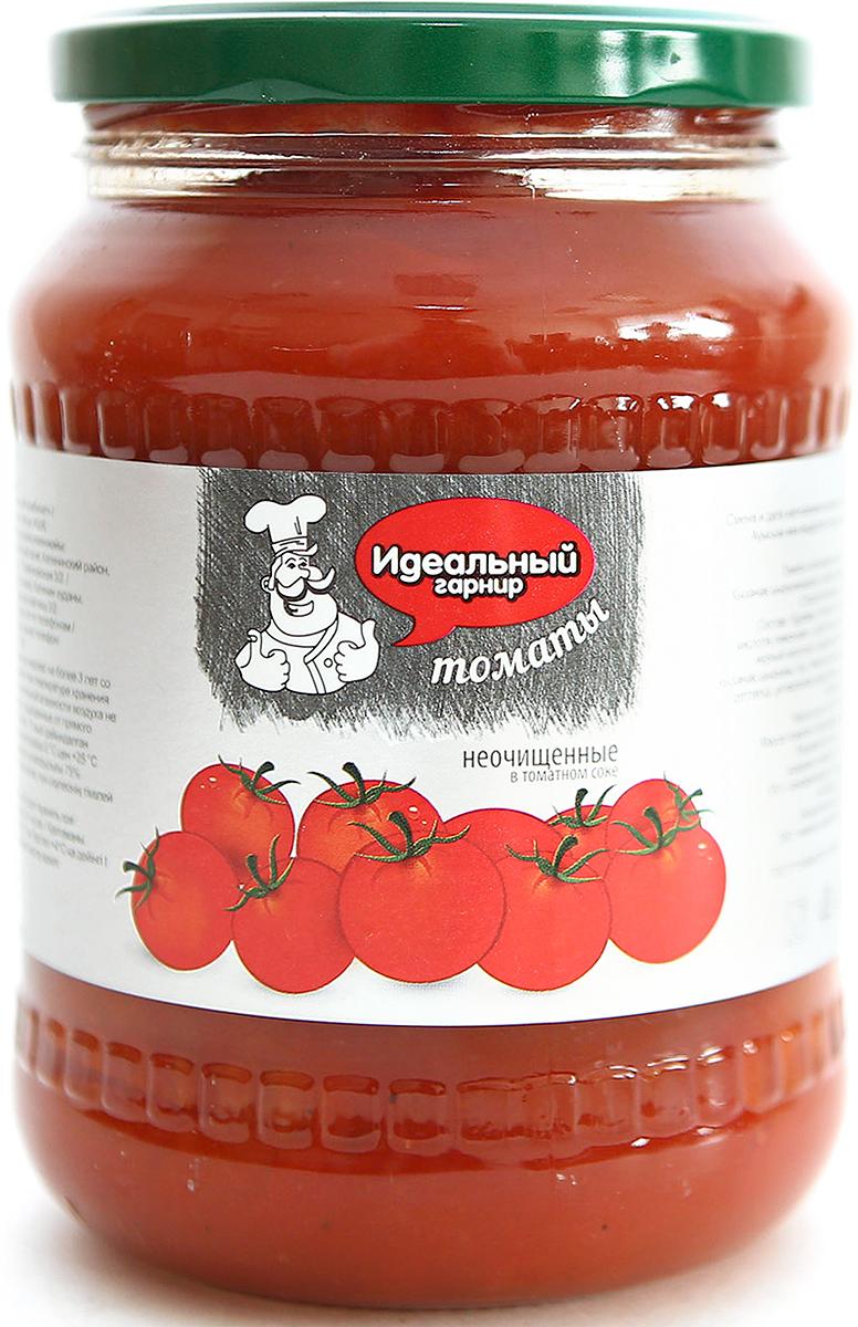 Идеальный гарнир Томаты неочищенные в томатном соке, 700 мл импрессо печенье с кунжутом 190 г