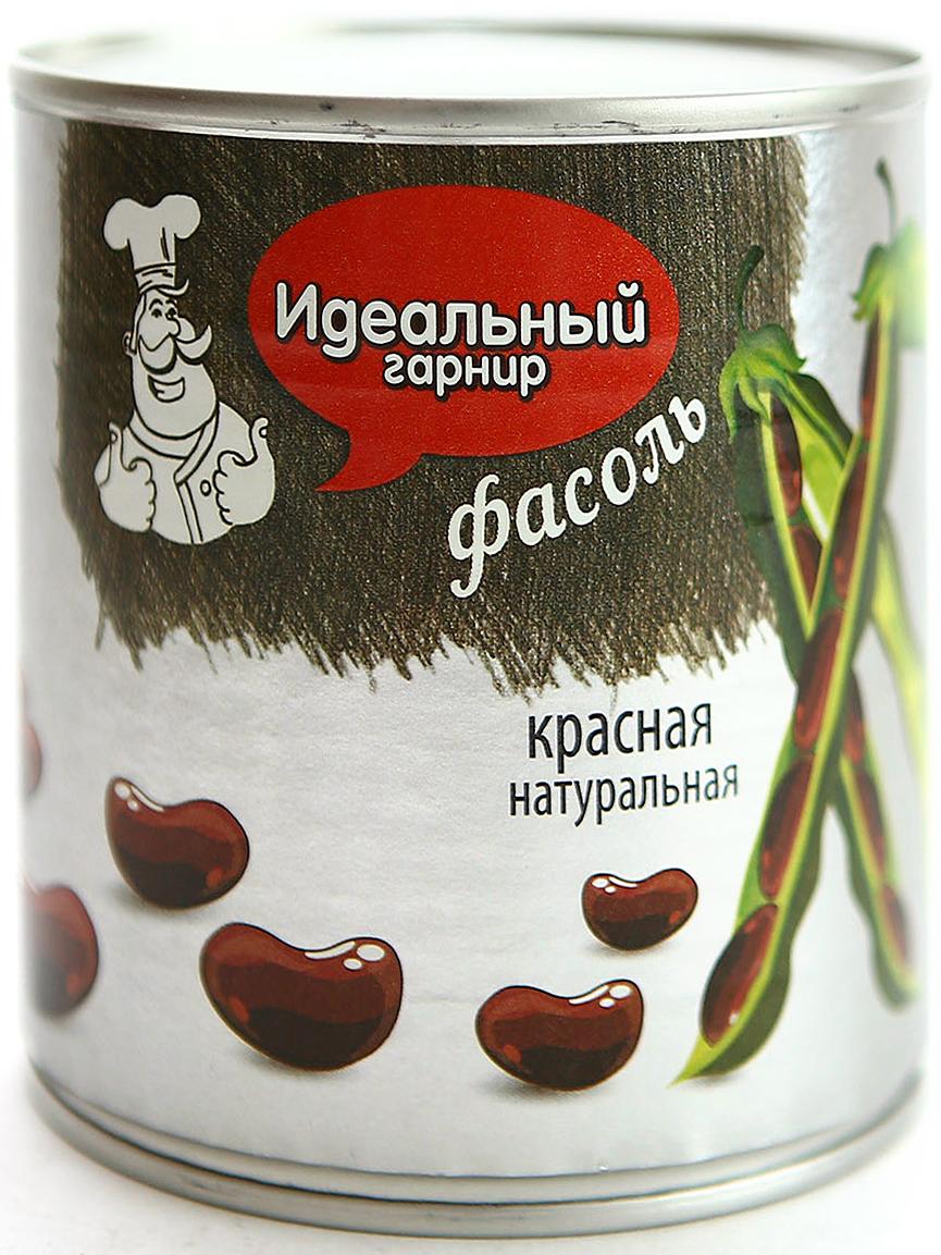 Идеальный гарнир Фасоль красная в собственном соку, 425 г стандарт фасоль красная 800 г