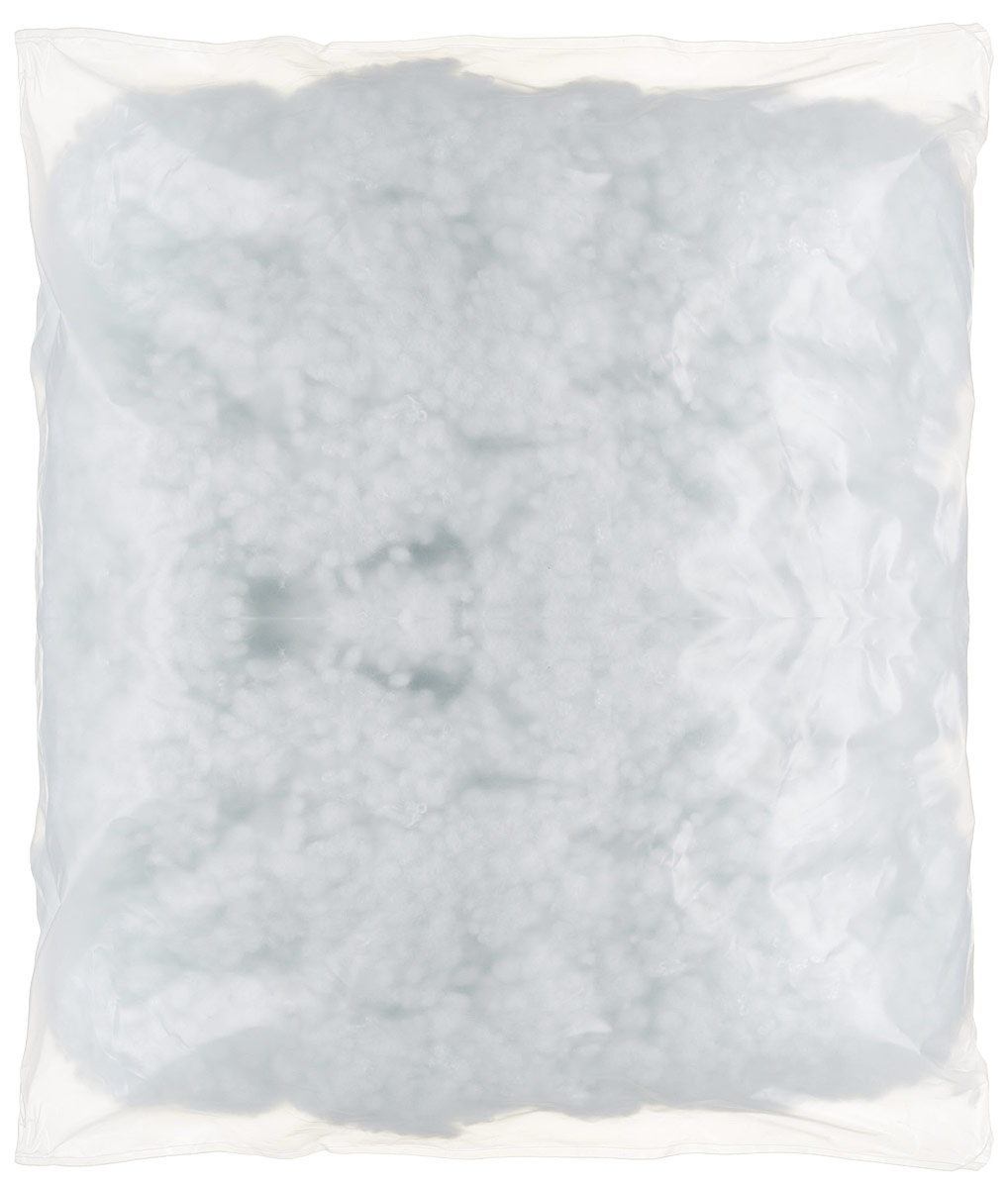"""Синтешар, он же """"Холлофайбер"""", комфорель, полиэфирное волокно - это волокна полиэстера, сотканные из мельчайших синтетических """"нитей"""". Волокна имеют вид спиральной пружины. Синтешар представляет собой небольшие шарики диаметром около одного сантиметра. Каждый из сотни шариков образуют собой пружину. Данный вариант является классическим наполнителем для постельных принадлежностей, подушек для беременных. В основном используется для наполнения обычных постельных принадлежностей, а так же для поделок и игрушек. Наполнитель гипоалергенен, подлежит стирке."""