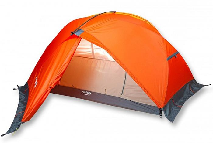 Палатка Red Fox Light Cycle Fox V2, 2-х местная, цвет: оранжевый