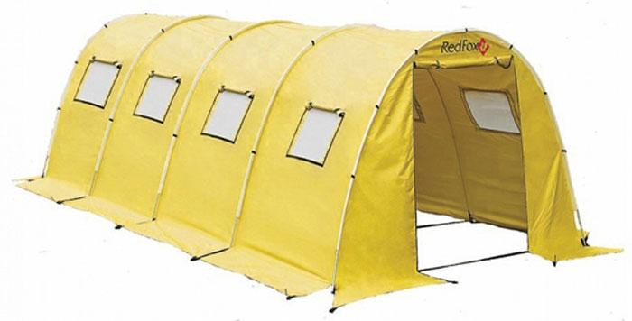 Палатка Red Fox Team Fox Light V2, 20-местная, цвет: желтый