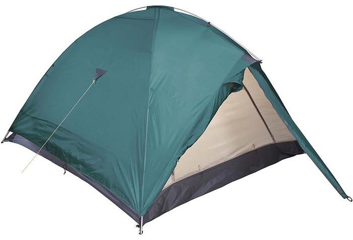 Палатка Red Fox Challenger 4 V2, 4-х местная, цвет: зеленый