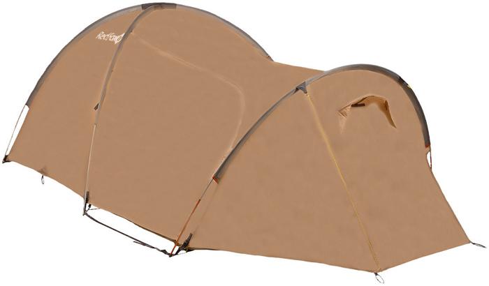 Палатка Red Fox Challenger 3 Combo V2, 3-х местная, цвет: светло-бежевый red fox палатка team fox 6100 зеленый