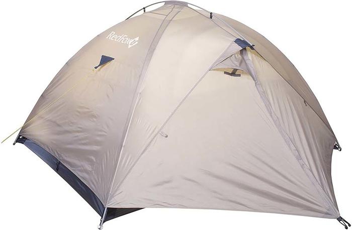 Палатка Red Fox Challenger 3 V2, 3-х местная, цвет: светло-бежевый