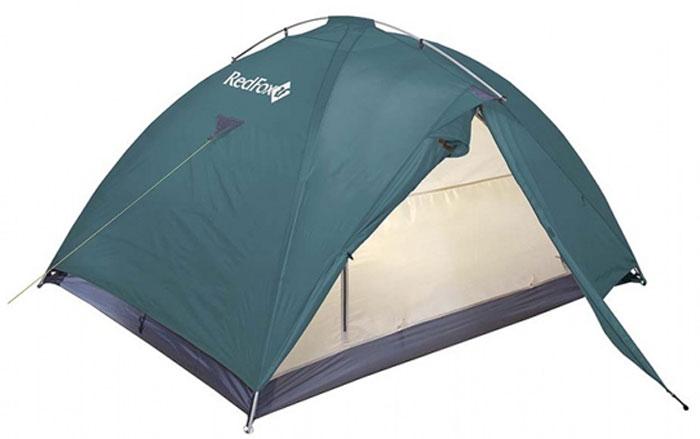 Палатка Red Fox Challenger 3 V2, 3-х местная, цвет: зеленый