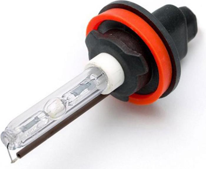 Купить Лампа автомобильная Optima Ceramic , ксенон, цоколь Н11, 5100K, 2 шт