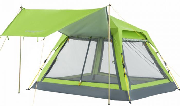 Шатер кемпинговый King Camp 3099 Positano, цвет: зеленый