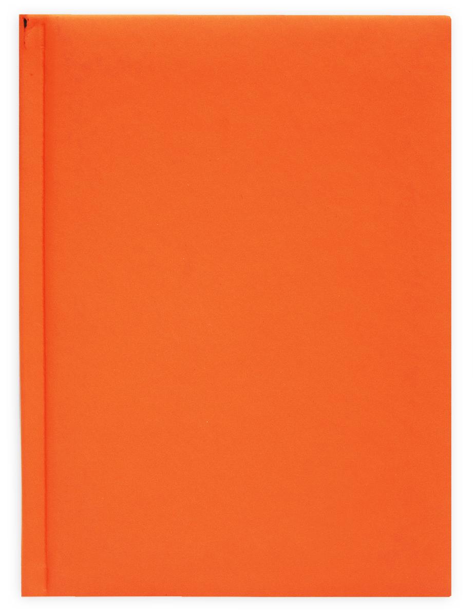 Prof Press Ежедневник Тач оранжевый 160 листов