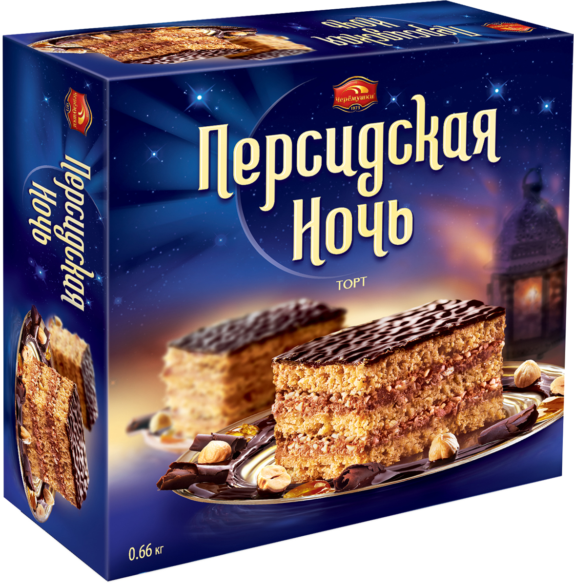 Черемушки Персидская ночь торт песочный, 660 г хлебная смесь хлеб с лесными орехами