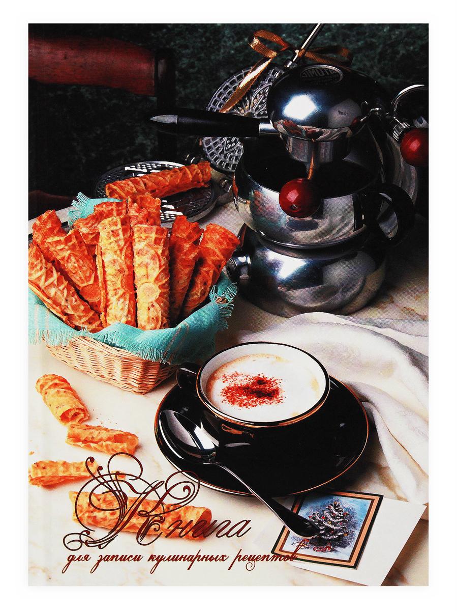 Prof Press Книга для записи кулинарных рецептов Кофе 80 листов книга для записи кулинарных рецептов 144 листа а5 чашки 45925