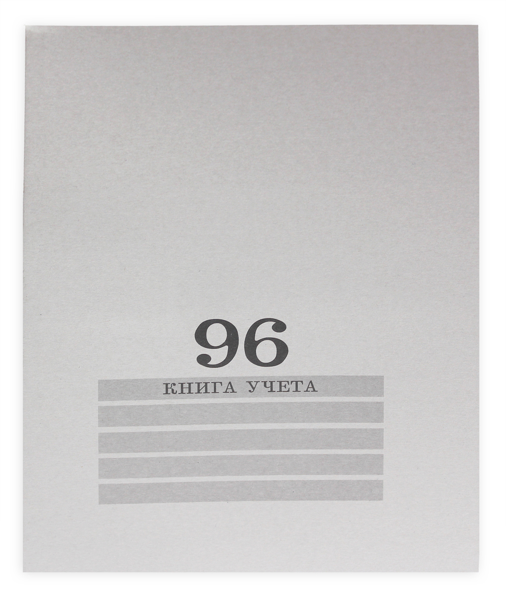 Prof Press Книга учета 96 листов