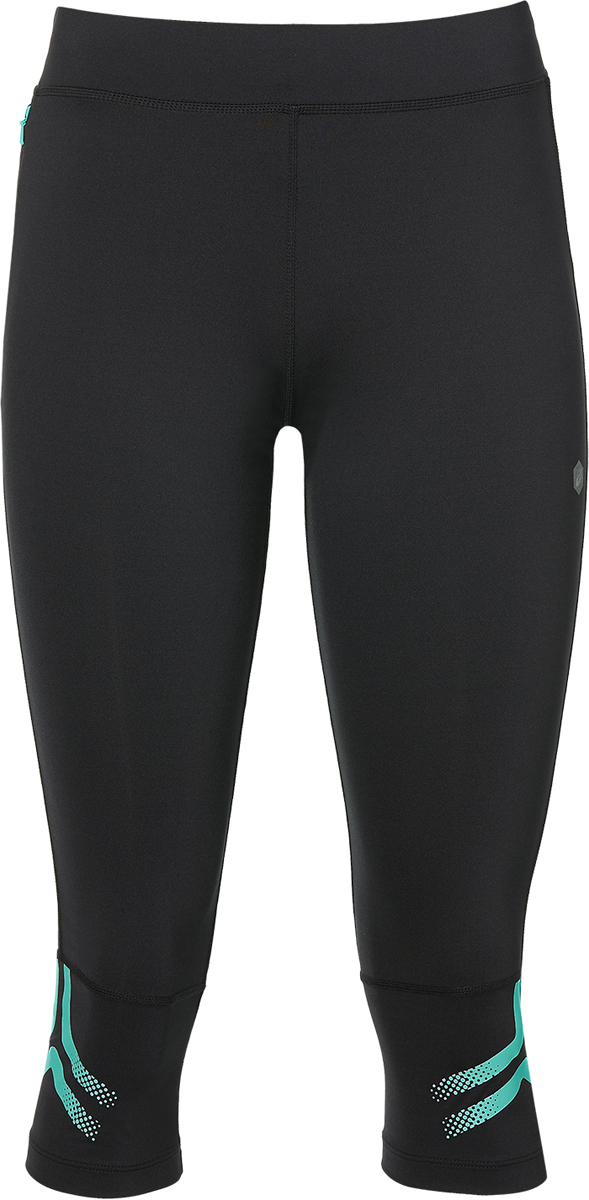 Тайтсы женские Asics Icon Knee Tight, цвет: черный. 154558-0498. Размер XS (42) тайтсы женские asics knee tight цвет черный 134113 0904 размер xs 42