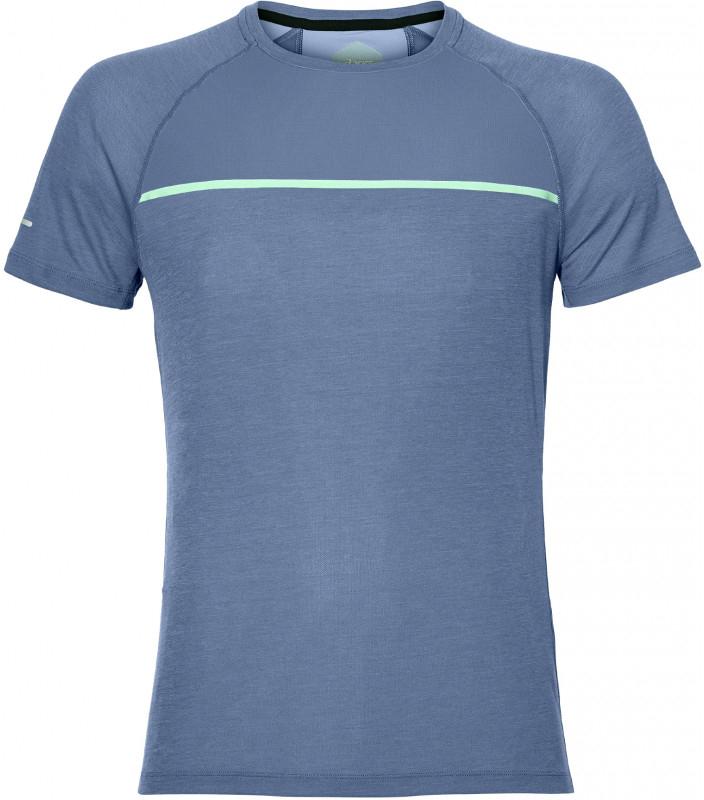 Футболка мужская Asics Ss Top, цвет: синий. 154582-0793. Размер XXL (54)