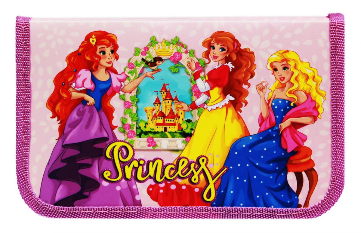 Prof Press Пенал Заботливые принцессы prof press пенал две принцессы и замок