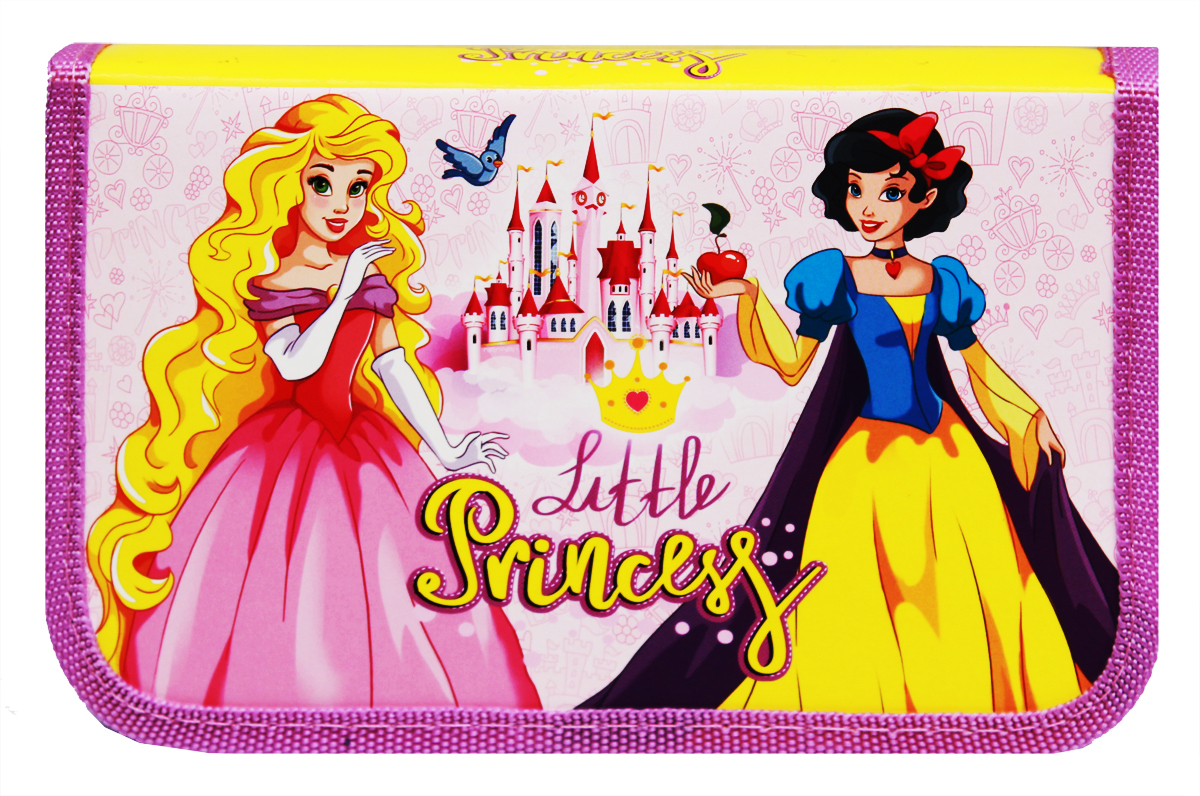 Prof Press Пенал Очаровательные принцессы ПН-5883 prof press пенал две принцессы и замок