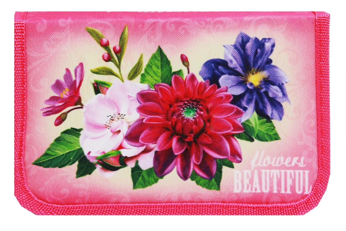 Prof Press Пенал Прекрасные цветы prof press пенал две принцессы и замок
