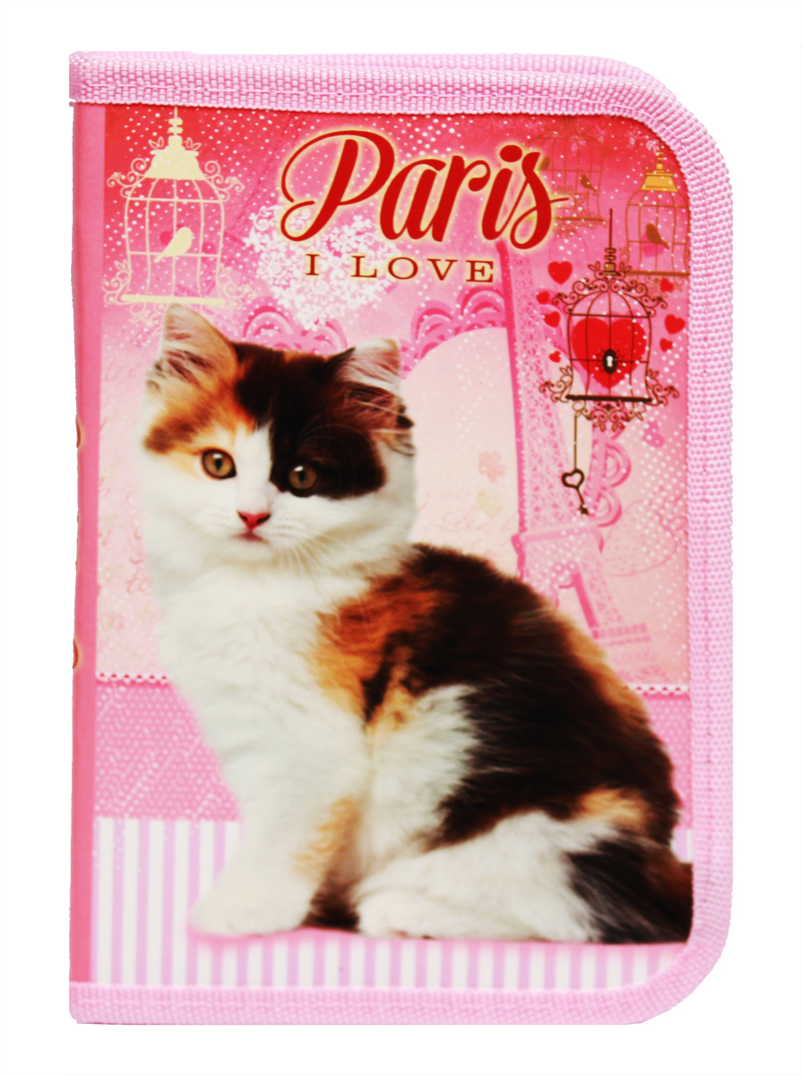 Prof Press Пенал Трехцветный котенок все цены