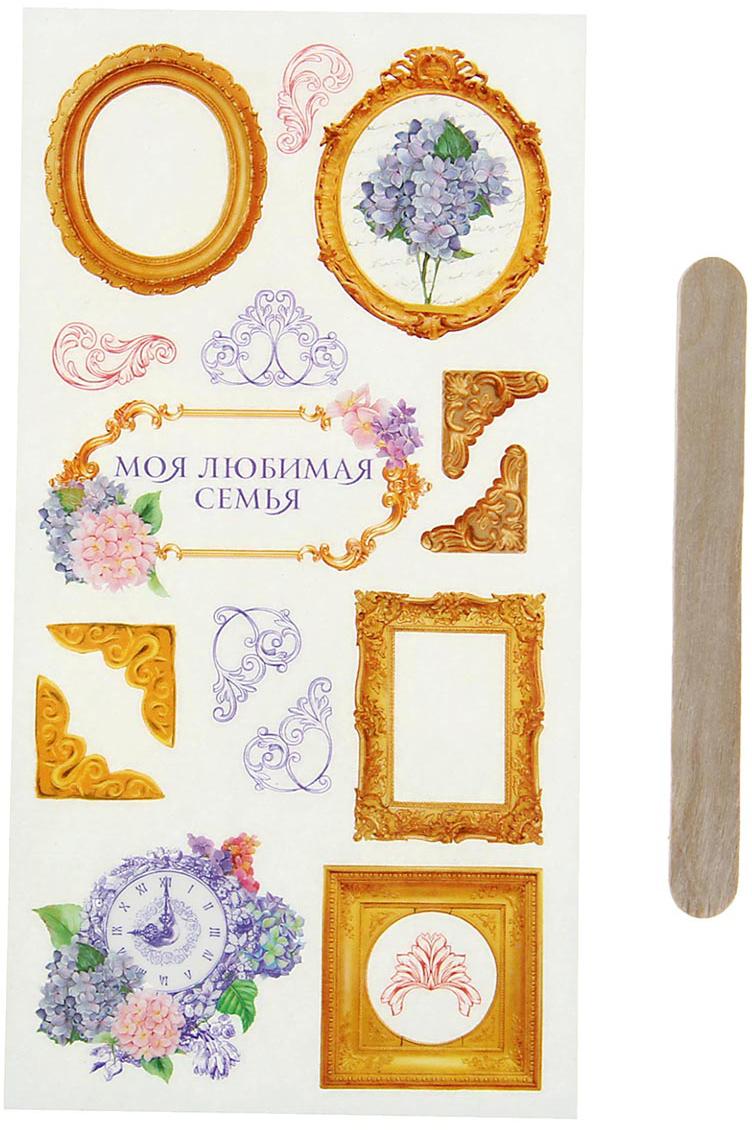 Арт Узор Набор наклеек для творчества Камея 1046038 арт узор набор эпоксидных наклеек париж 945186