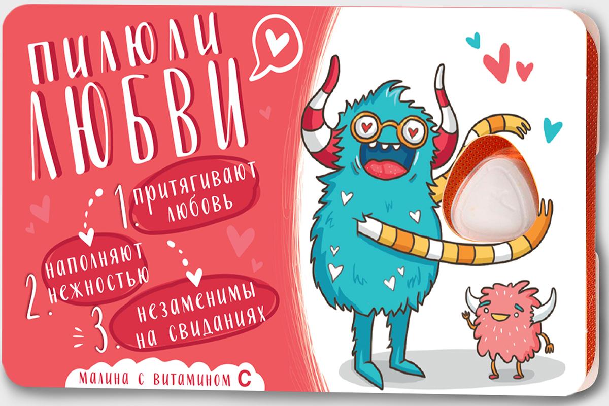 Сhokocat Пилюли любви леденцы для рассасывания, 18 г губка боб леденцы без сахара дюшес 55 г