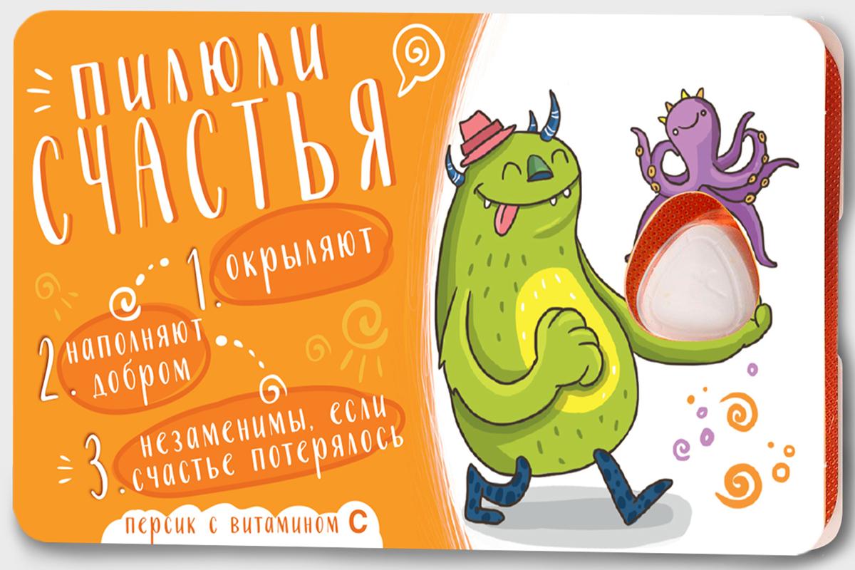 Сhokocat Пилюли счастья леденцы для рассасывания, 18 г губка боб леденцы без сахара дюшес 55 г