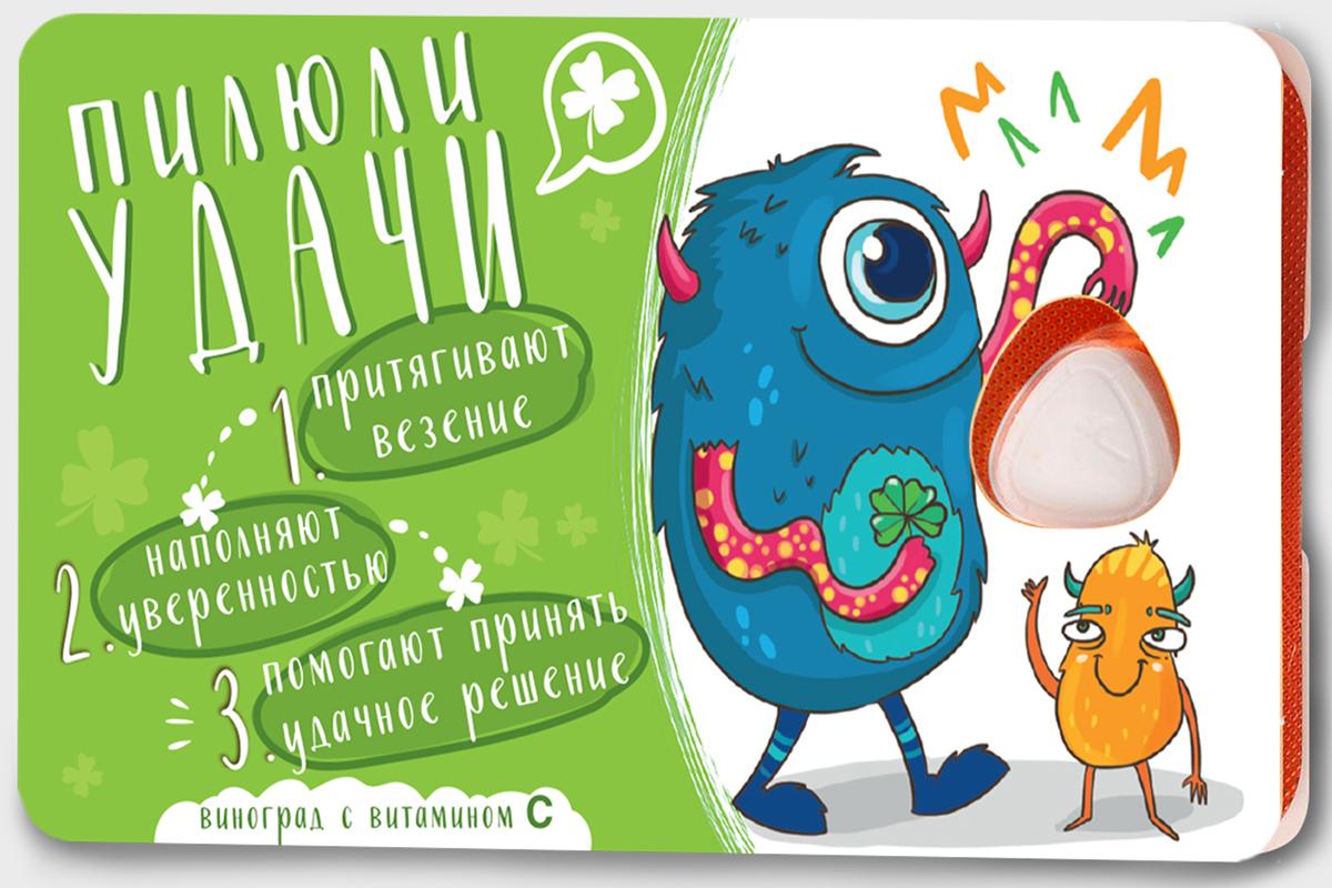 Сhokocat Пилюли удачи леденцы для рассасывания, 18 г jake vitamin c леденцы со вкусом винограда 18 г