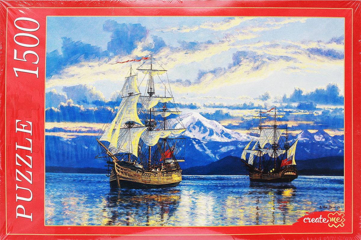 Рыжий Кот Пазл Рэнди Ван Бик Корабли Капитана Ванкувера