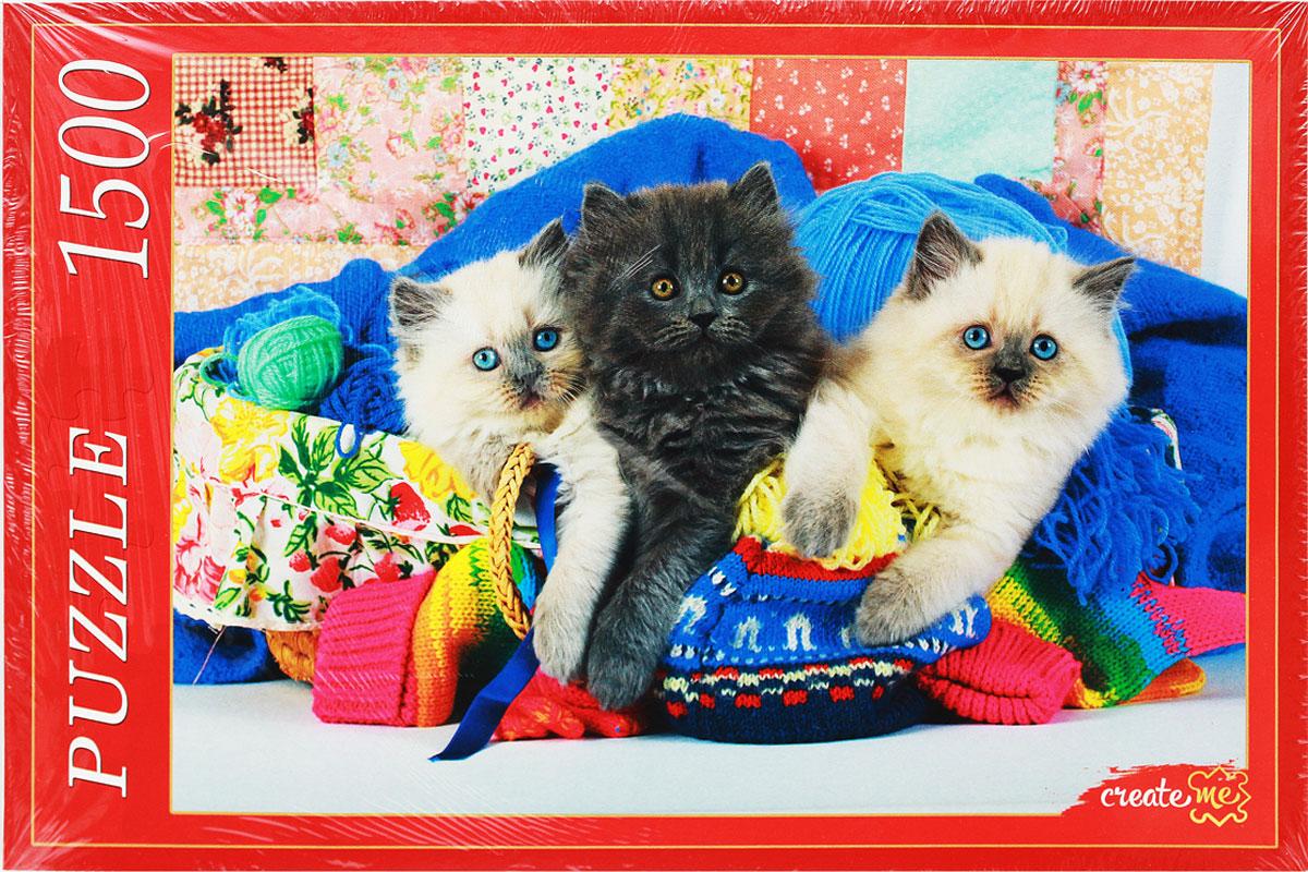 Рыжий Кот Пазл Пушистые котята