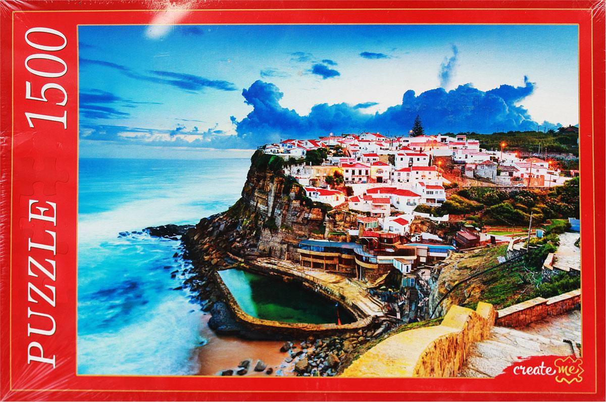 Рыжий Кот Пазл Португалия Азеньяш-Ду-Мар
