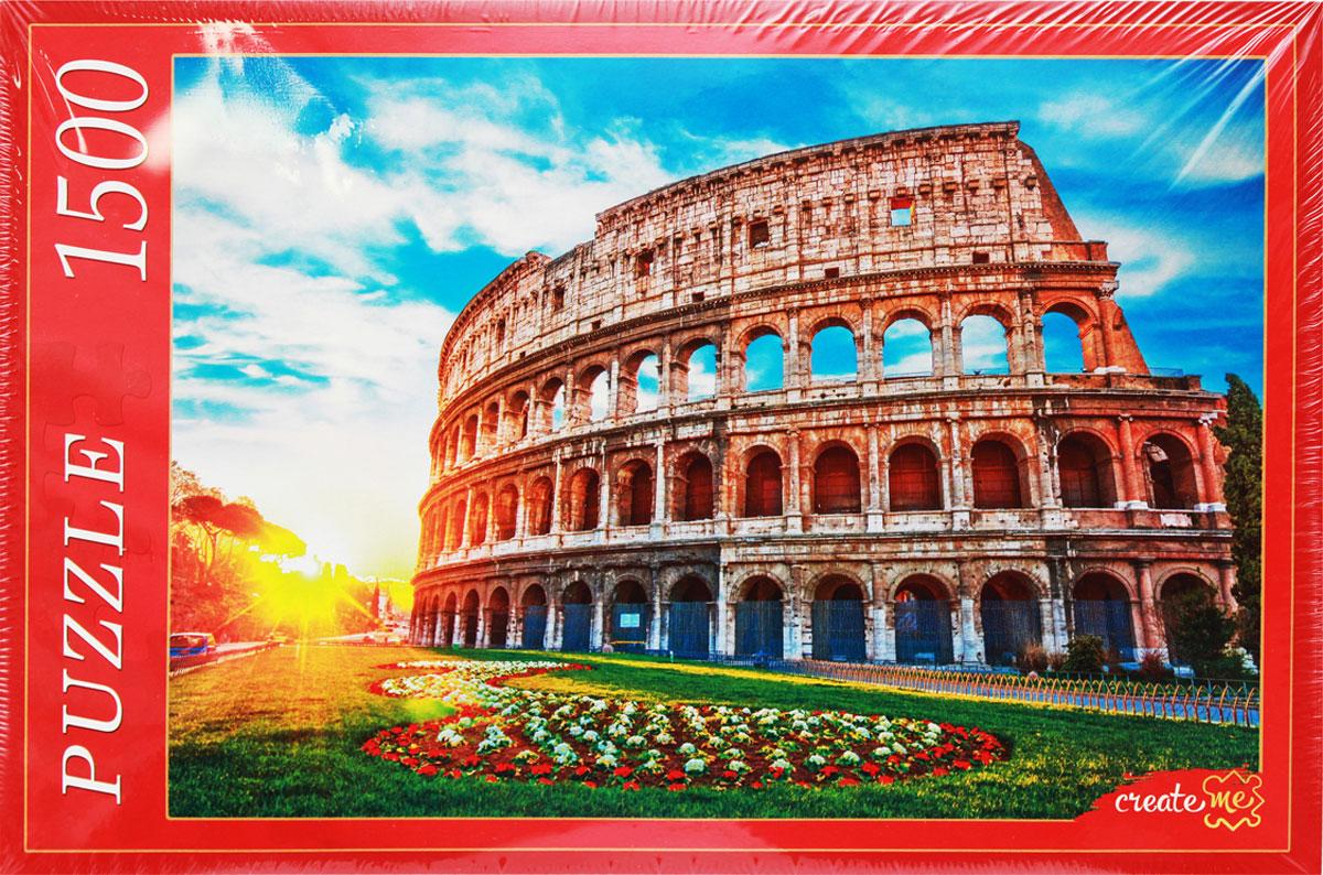Рыжий Кот Пазл Рим Колизей