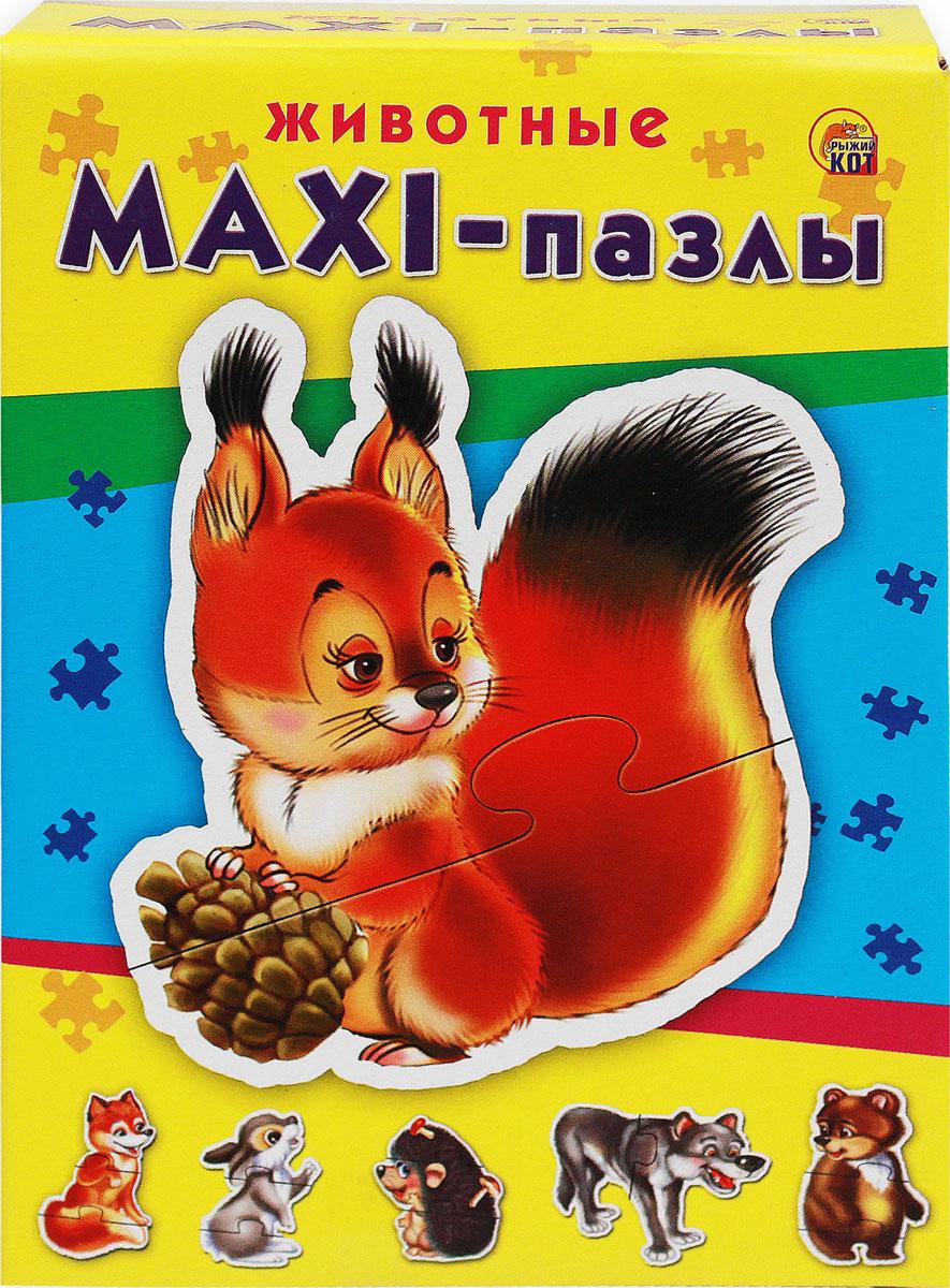 Рыжий Кот Пазл для малышей Животные
