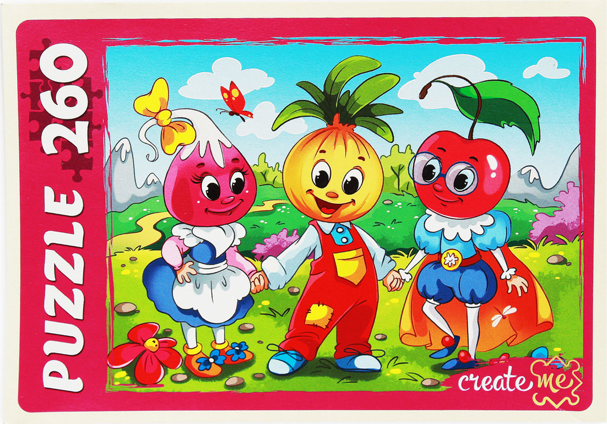 Рыжий Кот Пазл для малышей Сказка № 43