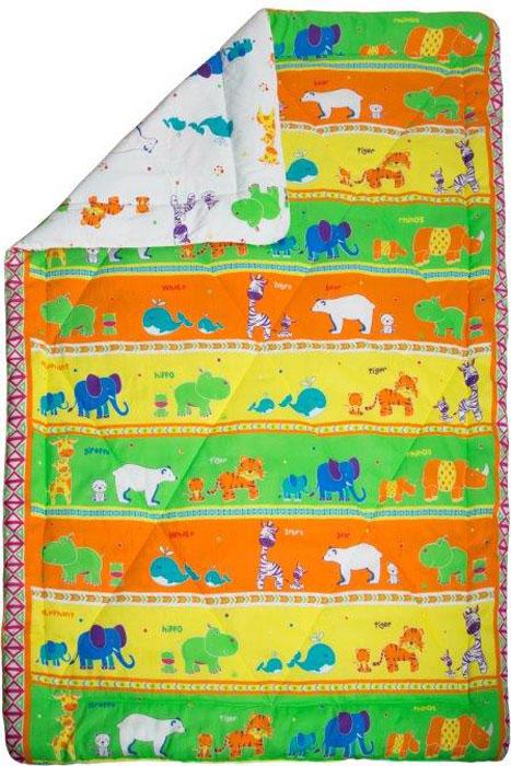 """Одеяло детское Mona Liza """"Зоопарк"""", зимнее, 140 х 205 см"""