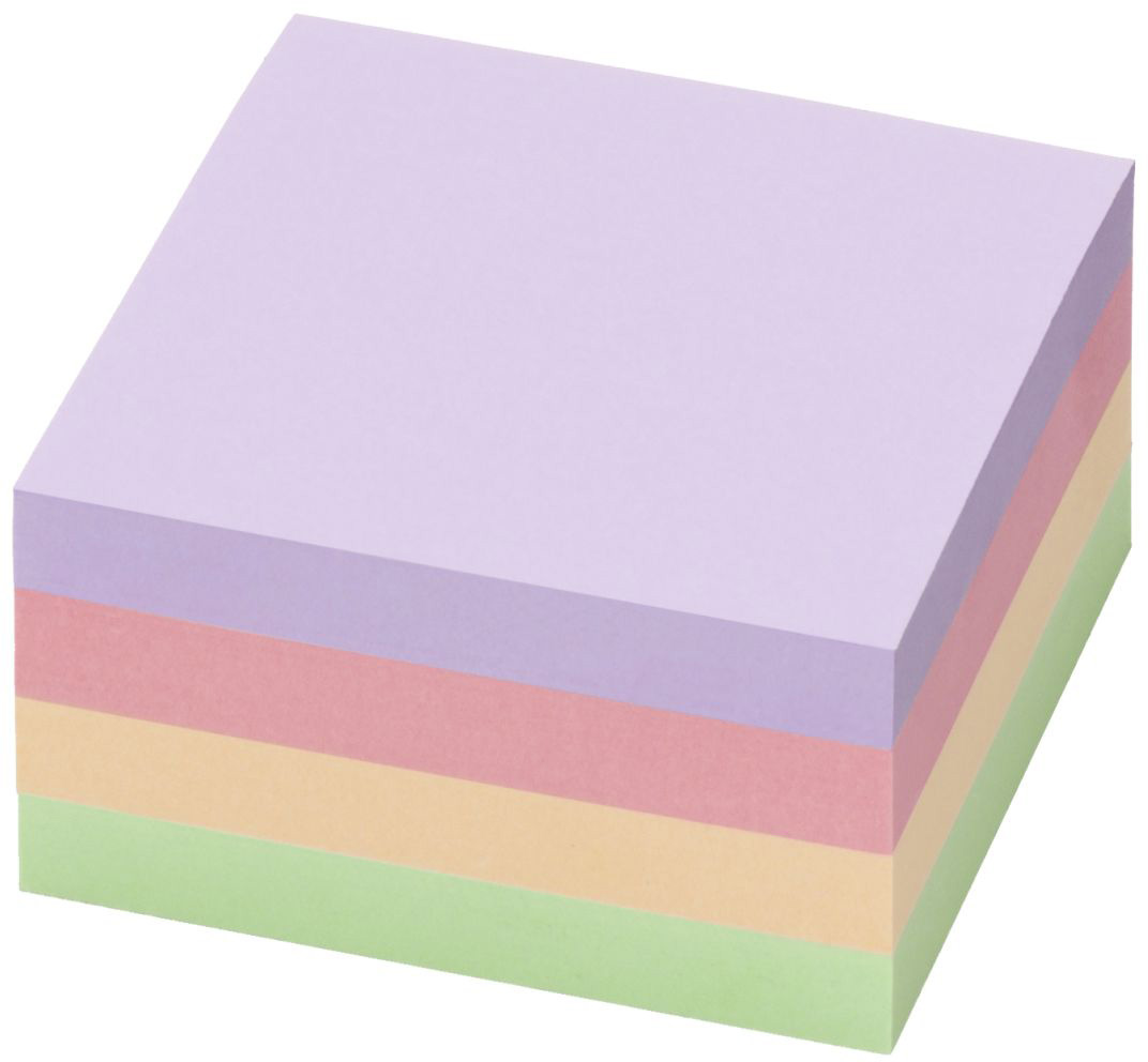 Info Notes Бумага для заметок Гармония 75 х 75 400 листов4-79Блок-кубики Info Notes для заметок из коллекции «Гармония» выразят вашу индивидуальность, придадут неповторимый образ вашему рабочему месту. Они крепятся на любую поверхность, легко удаляются, не оставляя следов клея и могут использоваться неоднократно. Листочки легко отделяются от блока. Представлены в четырех цветах, в нескольких размерах, с разным количеством листов в блоке. При производстве используется бумага высокого качества и клей на водной основе, без растворителей. Производство расположено в Германии. Размер блоков - 75х75 мм, 400 листов в блоке.