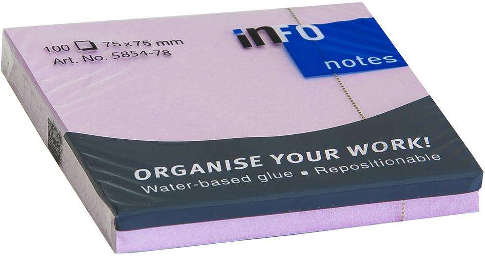 Info Notes Бумага для заметок Свежесть 75 х 75 100 листов