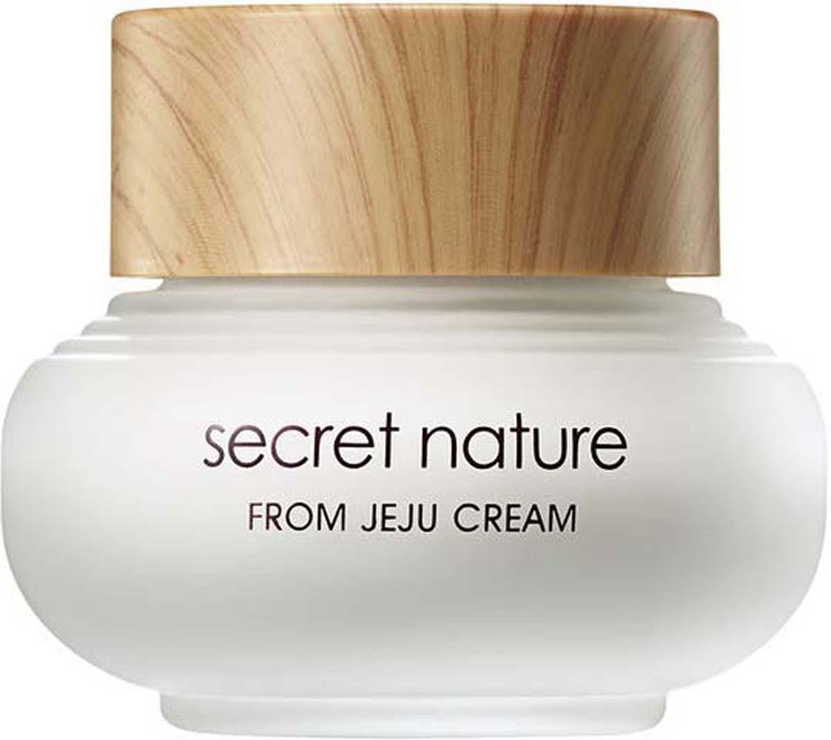 Secret Nature From Jeju Cream Увлажняющий крем с зеленым чаем, 50 мл крем secret key snow white moisture cream 50 мл