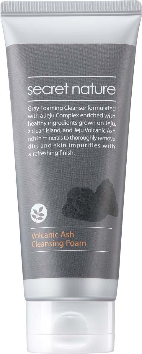 Фото - Secret Nature Volcanic Ash Cleansing Foam Пенка для умывания с вулканическим пеплом, 150 мл пенка vprove capture barrier moisture cleansing foam deep cleansing объем 150 мл