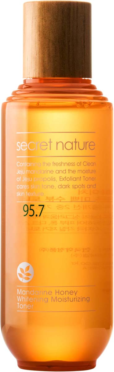 Secret Nature Mandarine Honey Whitening Moisturizing Toner Тоник с мандарином и прополисом, придающий сияние, 130 мл compatible toner tektronix 790 printer bulk toner powder for tektronix phaser 790 790dp 790n toner refill for tektronix toner