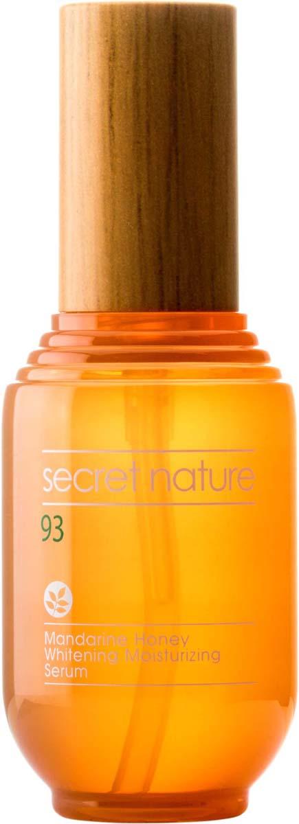Secret Nature Mandarine Honey Whitening Moisturizing Serum Сыворотка с мандарином и медом, придающая сияние, 53 мл сыворотка с медом farmstay сыворотка с медом