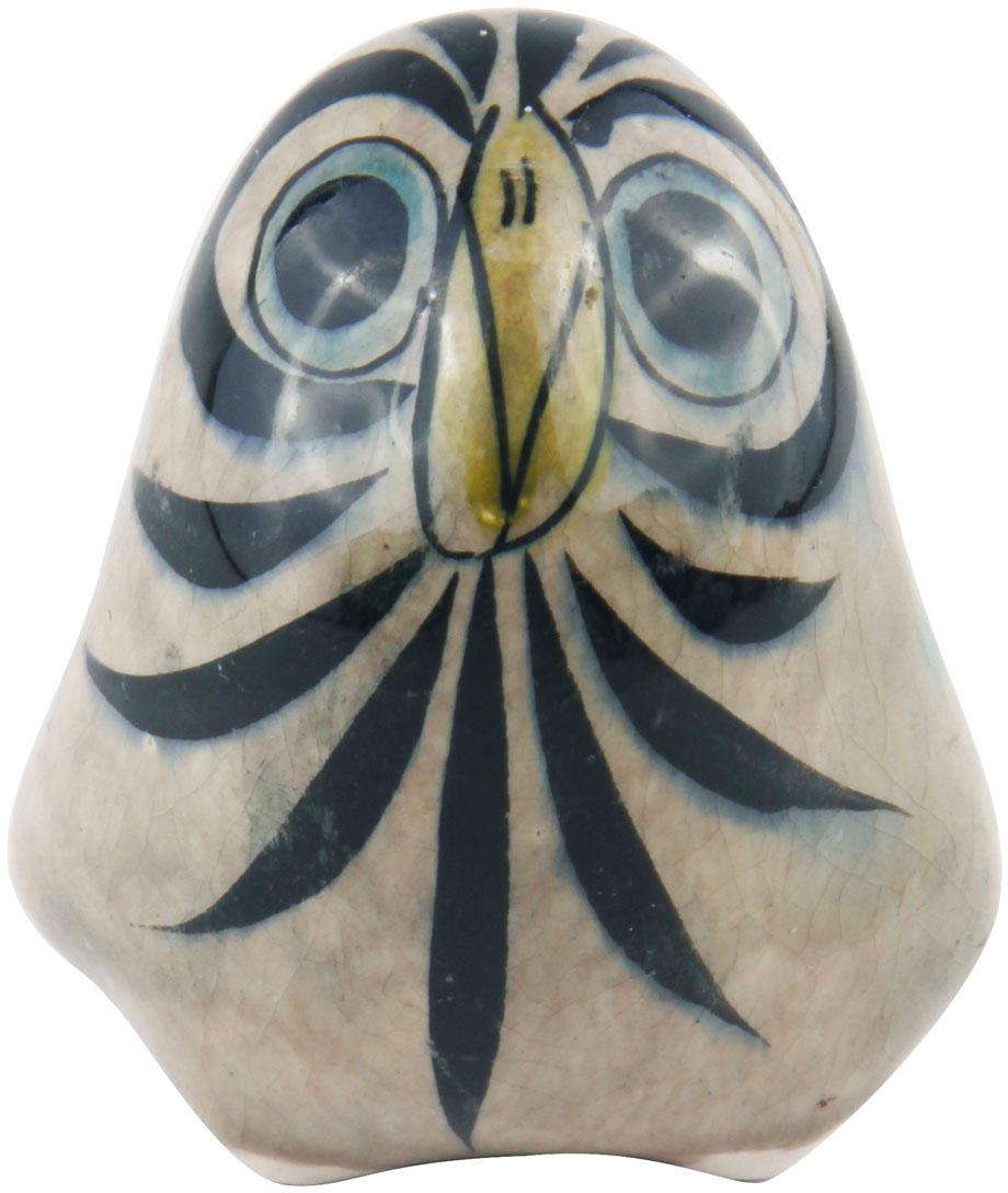 Коллекционная статуэтка Сова. Керамика, роспись. Италия, конец XX века 45 023 статуэтка сова 10см 911469
