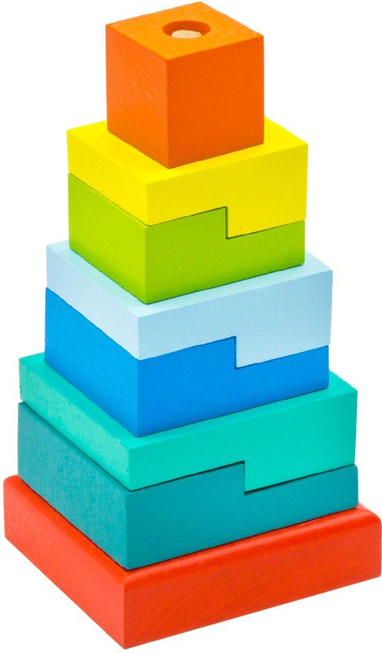 Alatoys Пирамидка Ступеньки ПСТ02 пирамидка ступеньки 9 дет