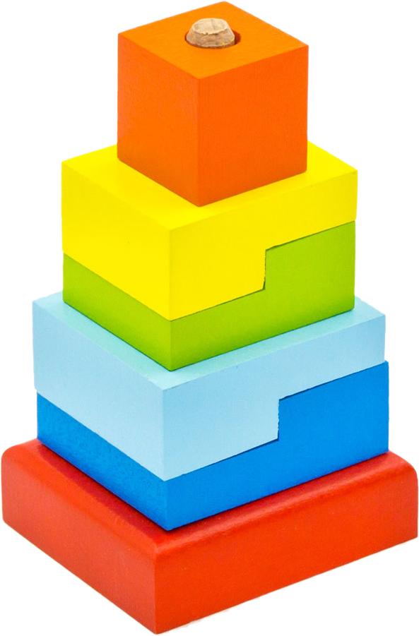 Alatoys Пирамидка Ступеньки ПСТ03 пирамидка ступеньки 9 дет