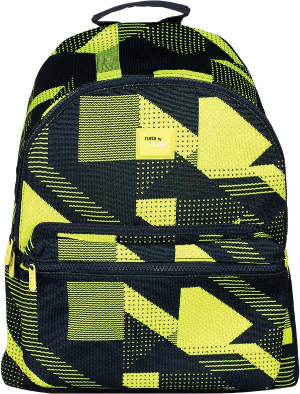 Milan Рюкзак детский Knit цвет черный желтый детский рюкзак для бассейна и пляжа trunki лягушка цвет салатовый желтый 7 5 л