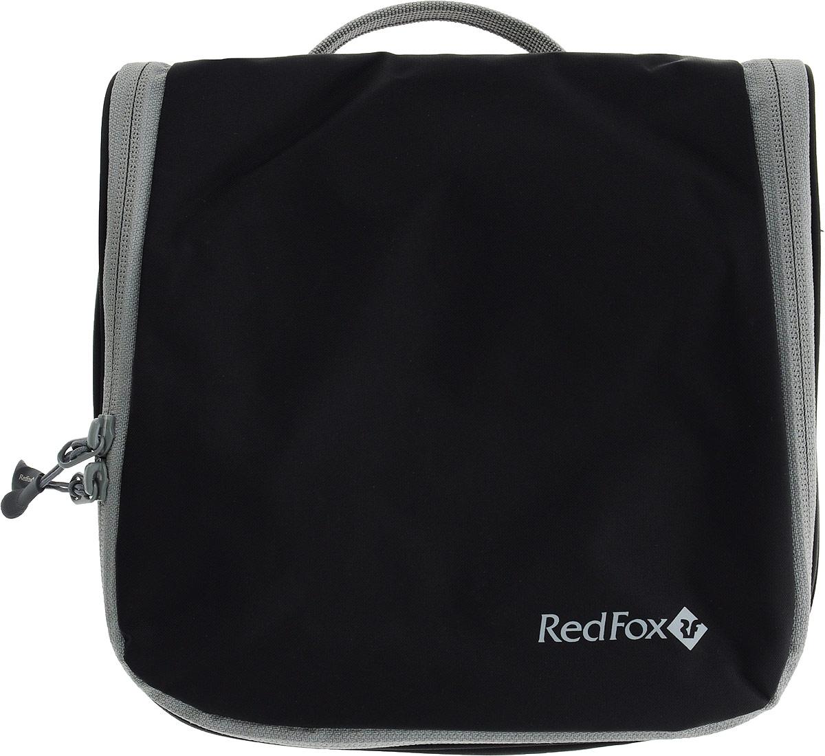 Косметичка дорожная Red Fox Voyager M, цвет: черный, 20 x 8,5 x 44 см