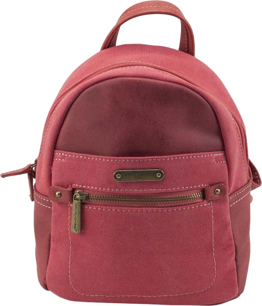 Рюкзак женский David Jones, цвет: красный. 5761-3 ROSE/RED