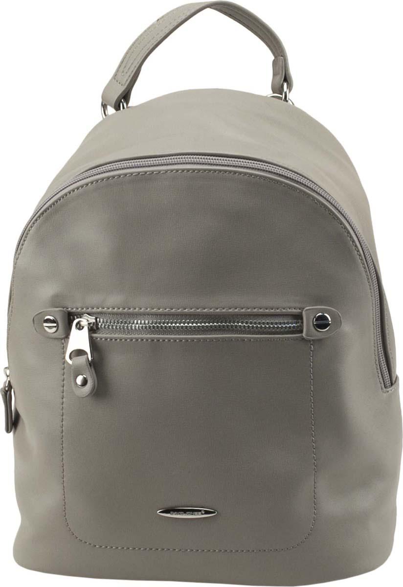 Рюкзак женский David Jones, цвет: серый. 5675A-2 GREY рюкзак женский david jones цвет красный cm3717 red